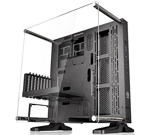 thermaltake core p3 pc wandgeh use schwarz knilok. Black Bedroom Furniture Sets. Home Design Ideas